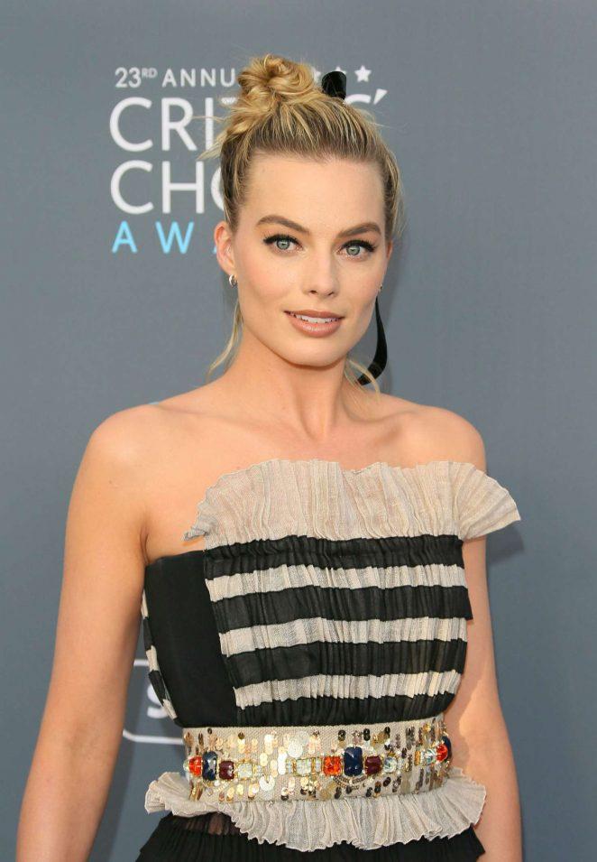 Margot Robbie – Critics' Choice Awards 2018 in Santa Monica