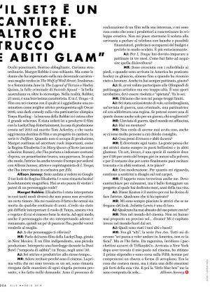 Margot Robbie Elle Italy Magazine May 2018 2018 04 17