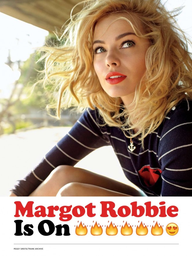 Margot Robbie - Entertainment Weekly US (February 2015)