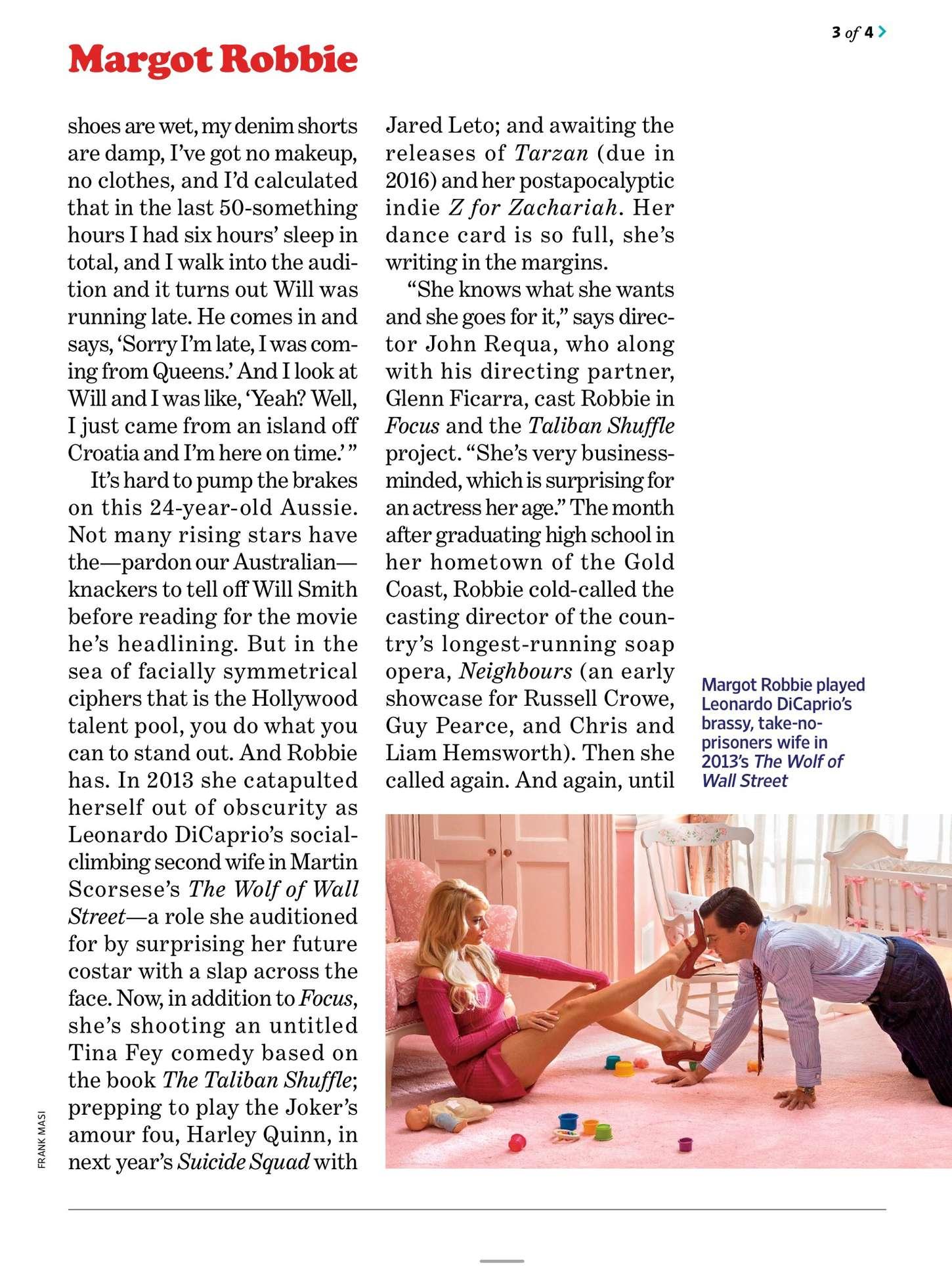 Margot Robbie 2015 : Margot Robbie: Entertainment Weekly US 2015 -02