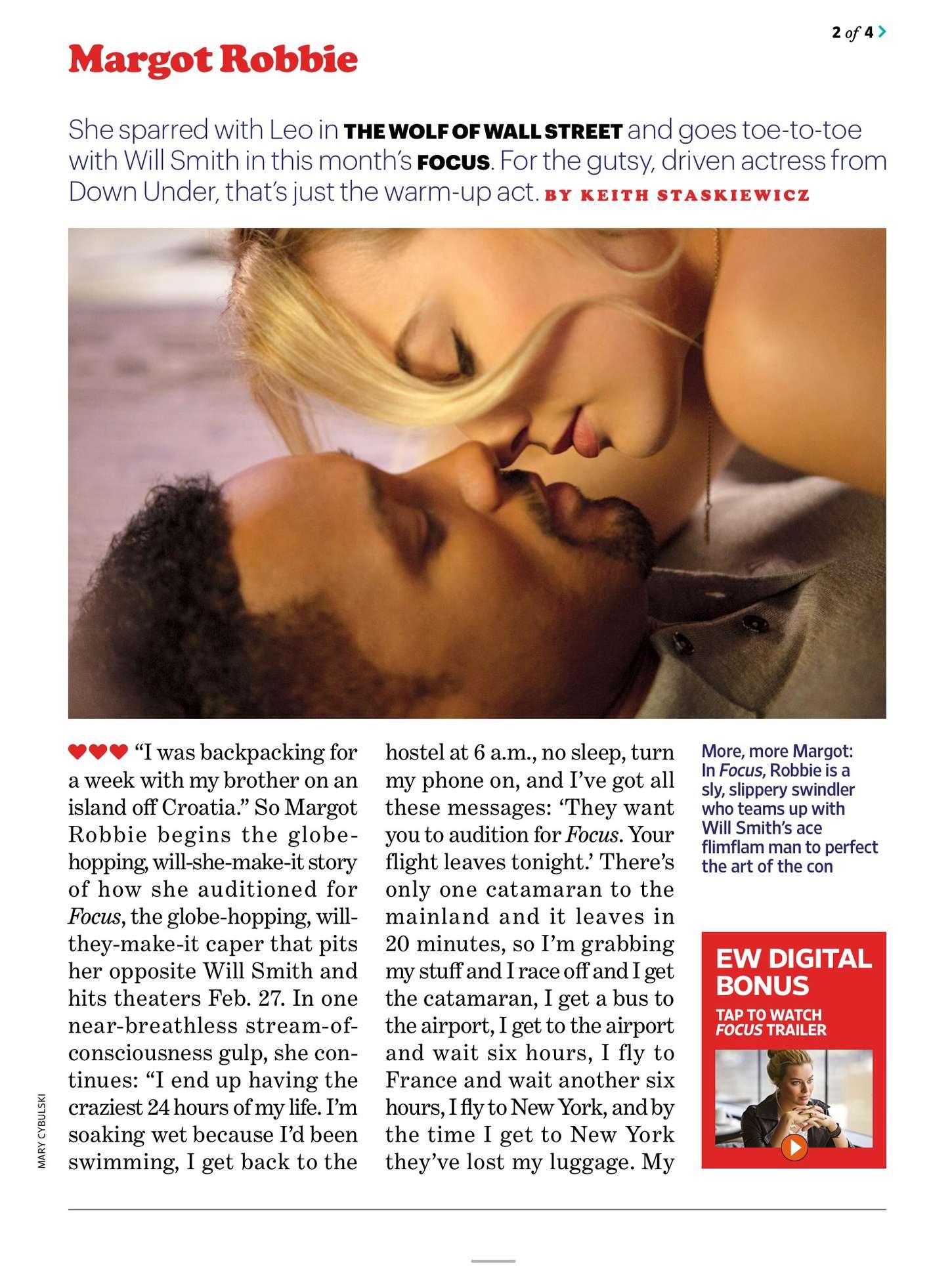Margot Robbie 2015 : Margot Robbie: Entertainment Weekly US 2015 -03