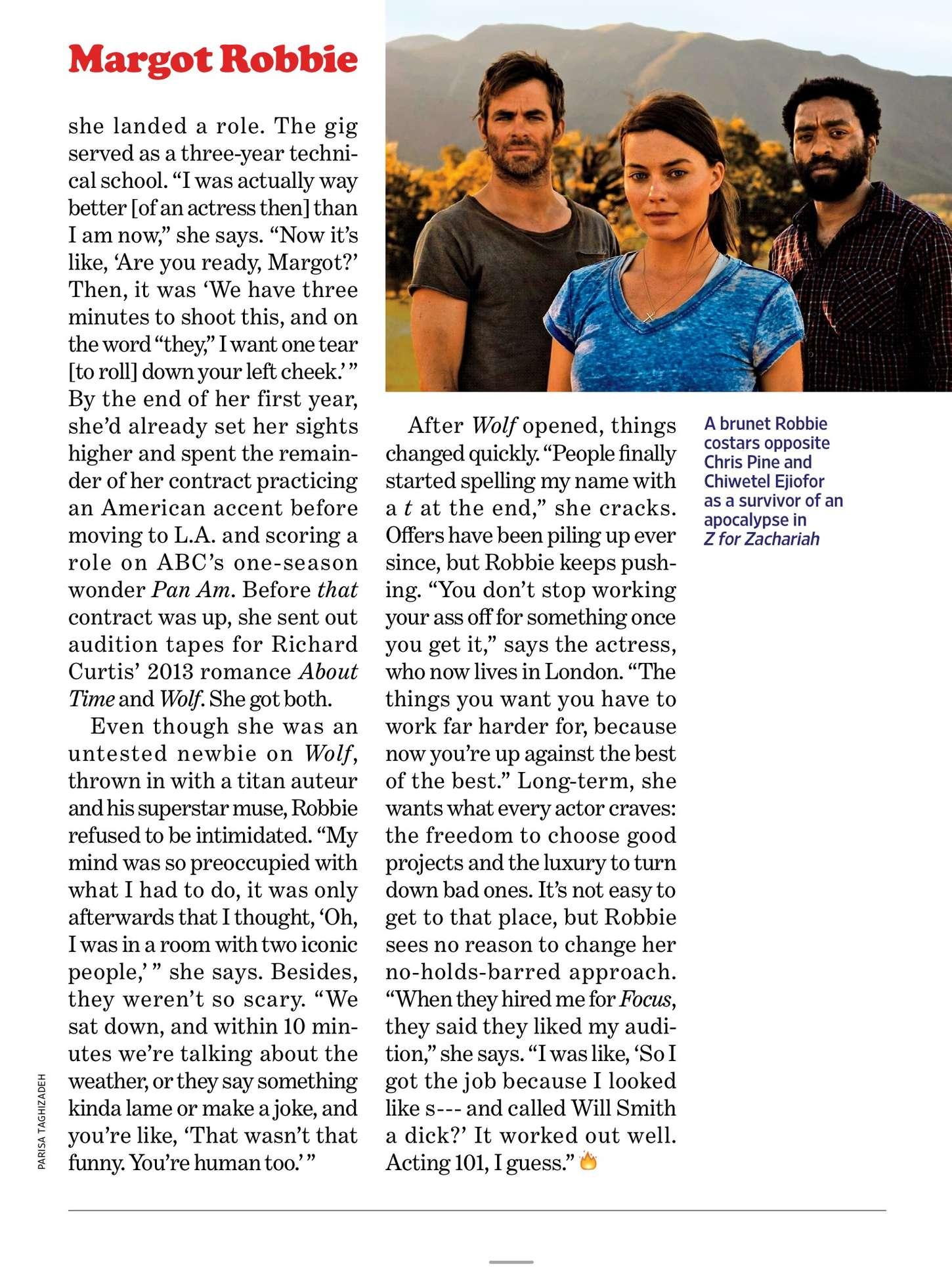 Margot Robbie 2015 : Margot Robbie: Entertainment Weekly US 2015 -05