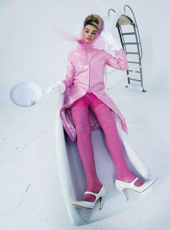 Margot Robbie for W Magazine 2019