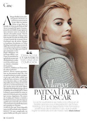 Margot Robbie - Glamour Spain Magazine (February 2018)