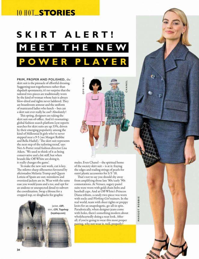 Margot Robbie - Grazia Magazine (April 2018)