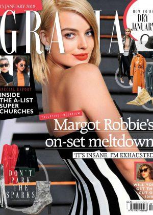 Margot Robbie - Grazia UK Magazine (January 2018)