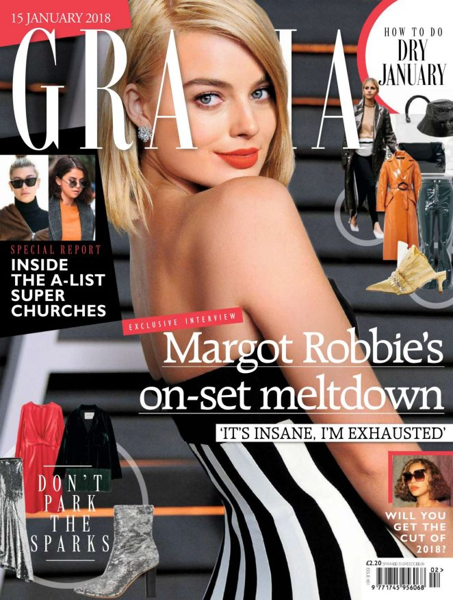 Margot Robbie – Grazia UK Magazine (January 2018)