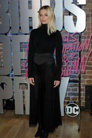 Margot Robbie - Harley Quinn's Pop Up Roller Disco in London