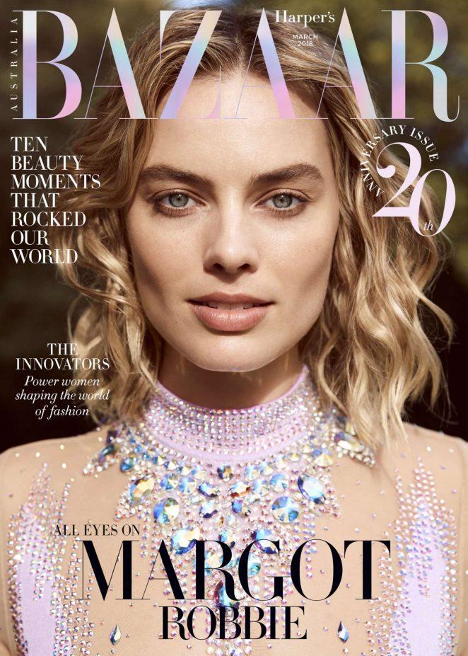 Margot Robbie – Harper's Bazaar Australia Cover (March 2018)