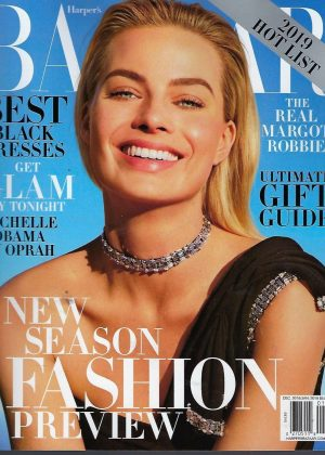 Margot Robbie - Harper's Bazaar US Cover Magazine (December 2018/January 2019)