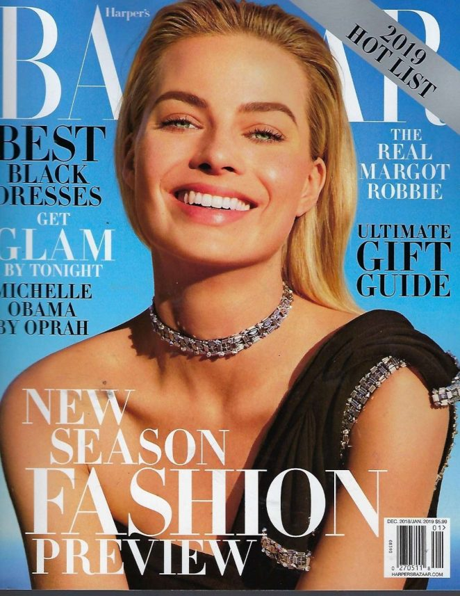 Margot Robbie - Harper's Bazaar US Cover Magazine (December 2018/January 2019)