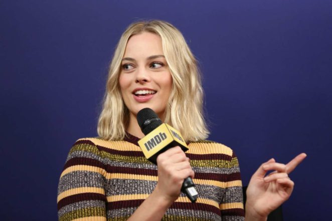 Margot Robbie: IMDb Studio hosted by the Visa Infinite Lounge at the 2017 Toronto IFF-07