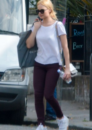 ea882678cad Margot Robbie in Tights. Margot Robbie in Tights out in London