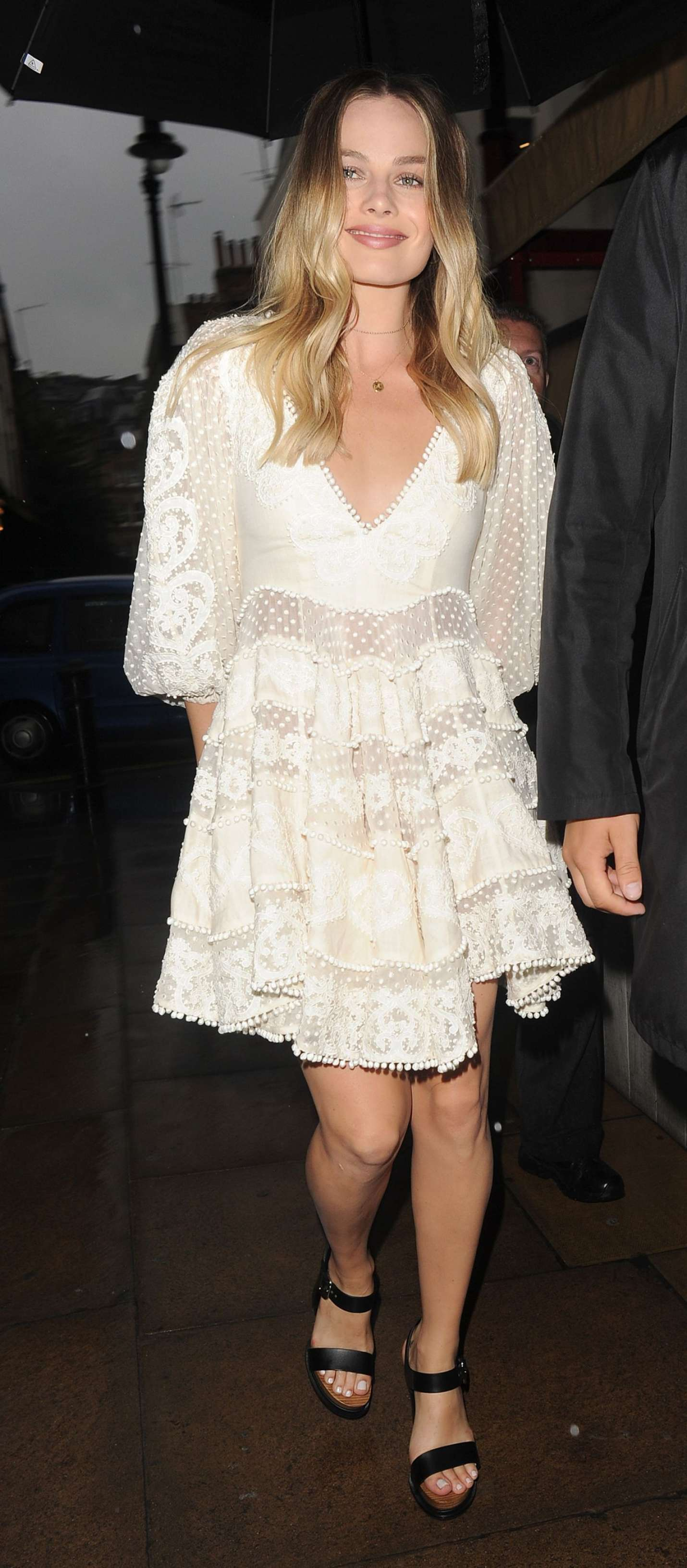 Lizzy milian white dress