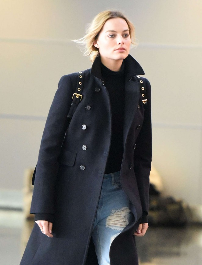 Margot Robbie - JFK Airport in New York City