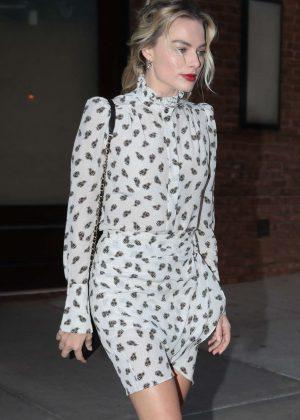 Margot Robbie - Leaving her hotel in New York City