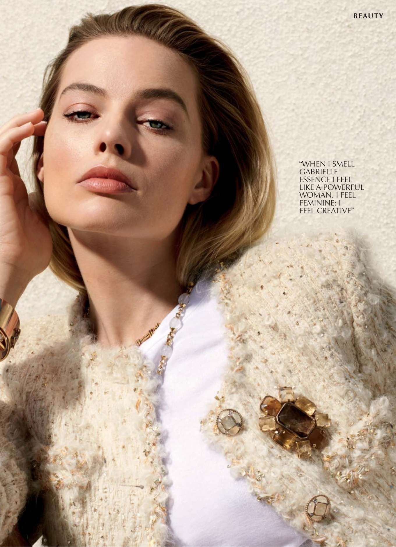 Margot Robbie - Marie Claire Australia Magazine (October 2019)