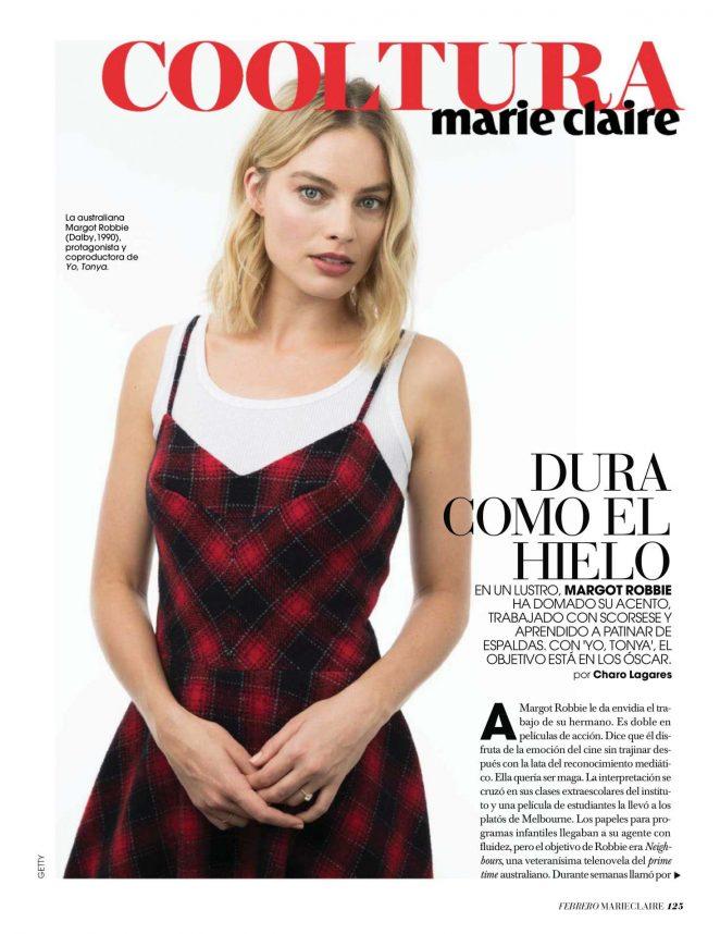 Margot Robbie – Marie Claire Spain (February 2018)