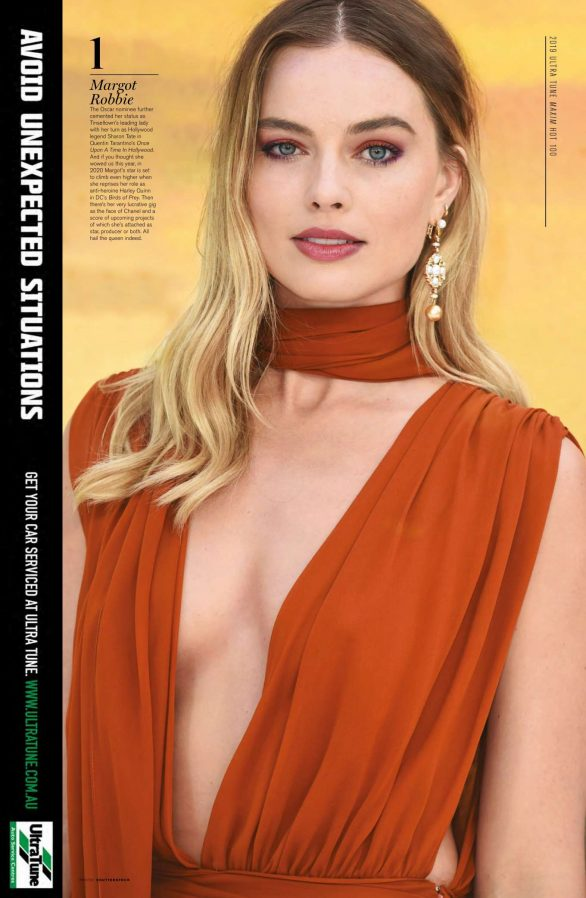 Margot Robbie - Maxim Australia Magazine (November 2019)