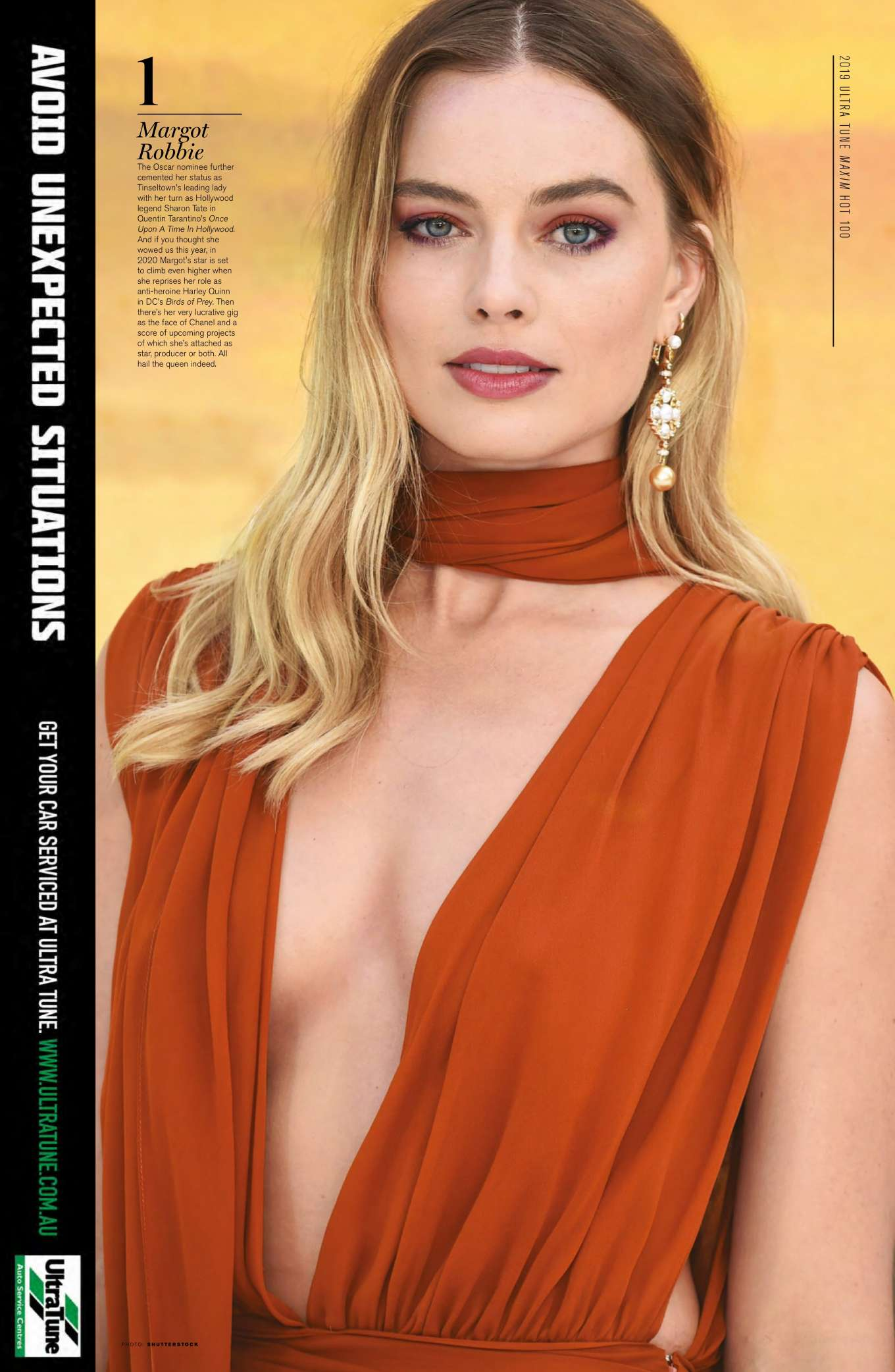 Margot Robbie - Maxim Australia Magazine (November 2019)