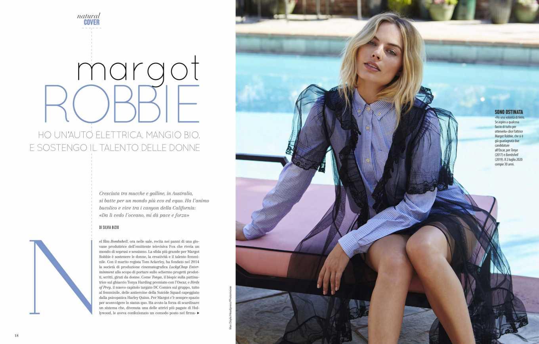 Margot Robbie 2020 : Margot Robbie – Natural Style Italy Magazine 2020-05