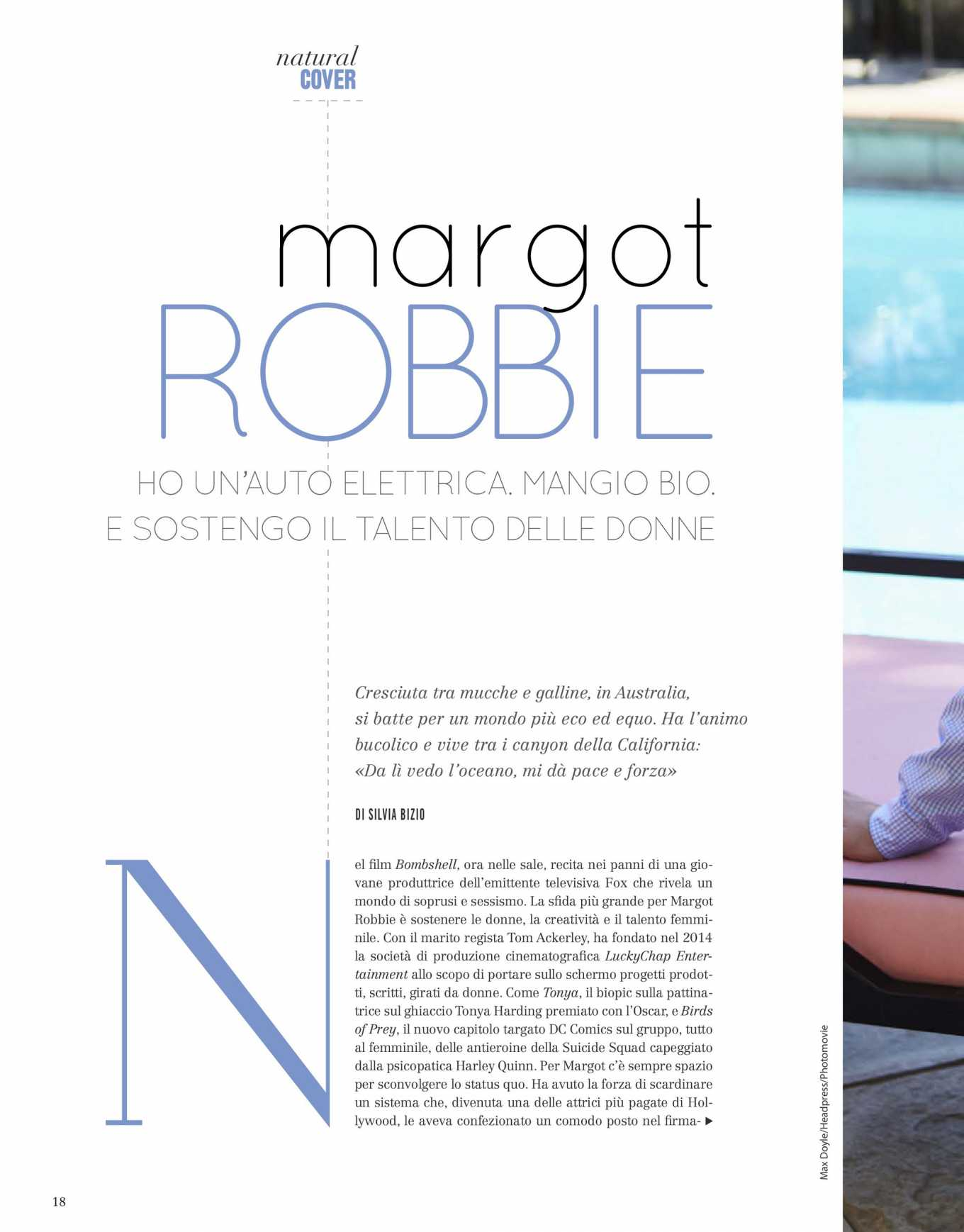 Margot Robbie 2020 : Margot Robbie – Natural Style Italy Magazine 2020-06