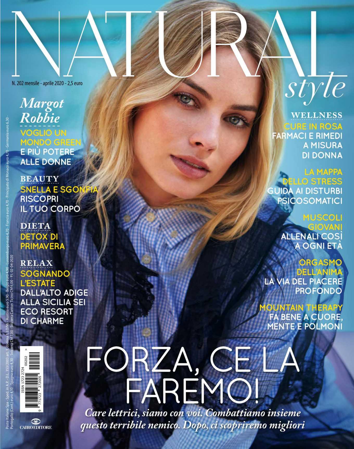 Margot Robbie 2020 : Margot Robbie – Natural Style Italy Magazine 2020-07