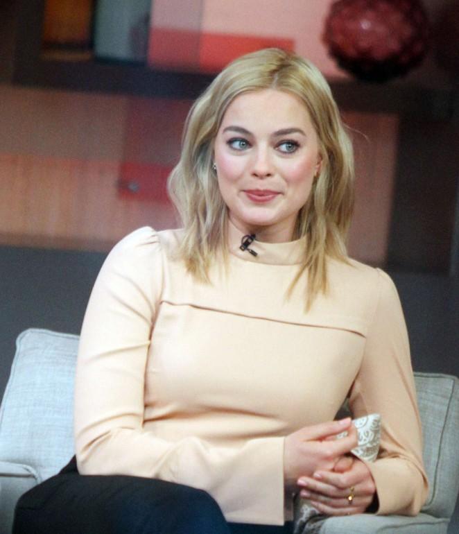 Margot Robbie on Good Morning America -05