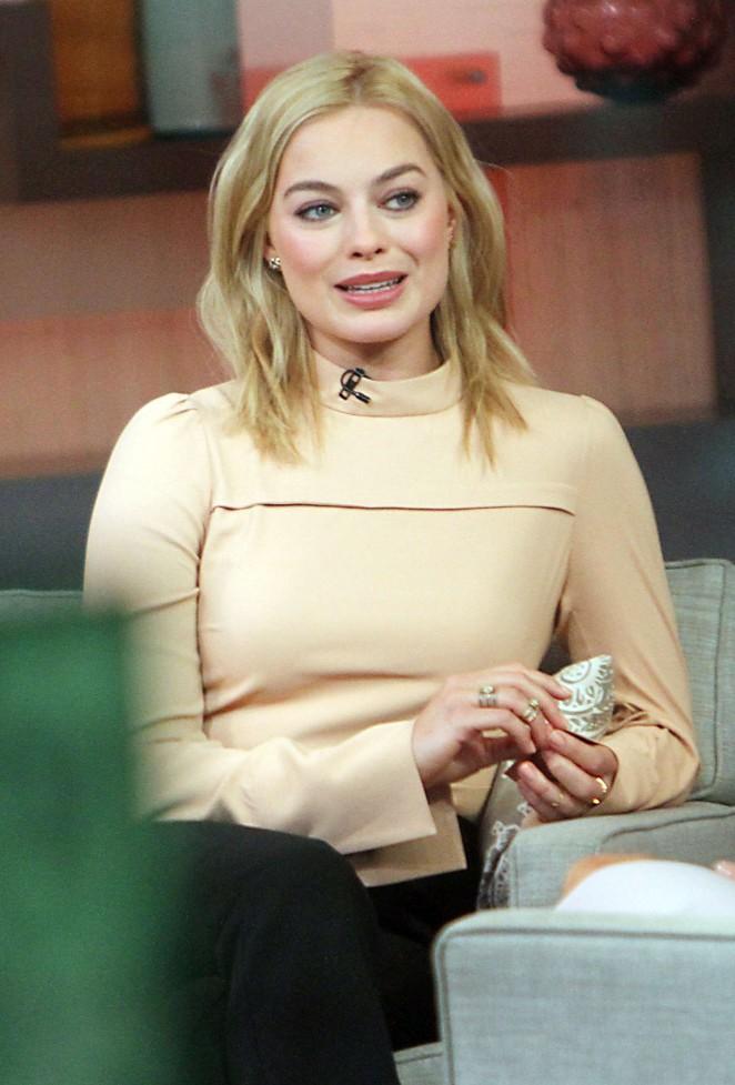 Margot Robbie on Good Morning America -07