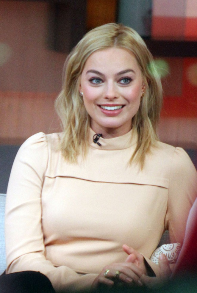 Margot Robbie on Good Morning America -12