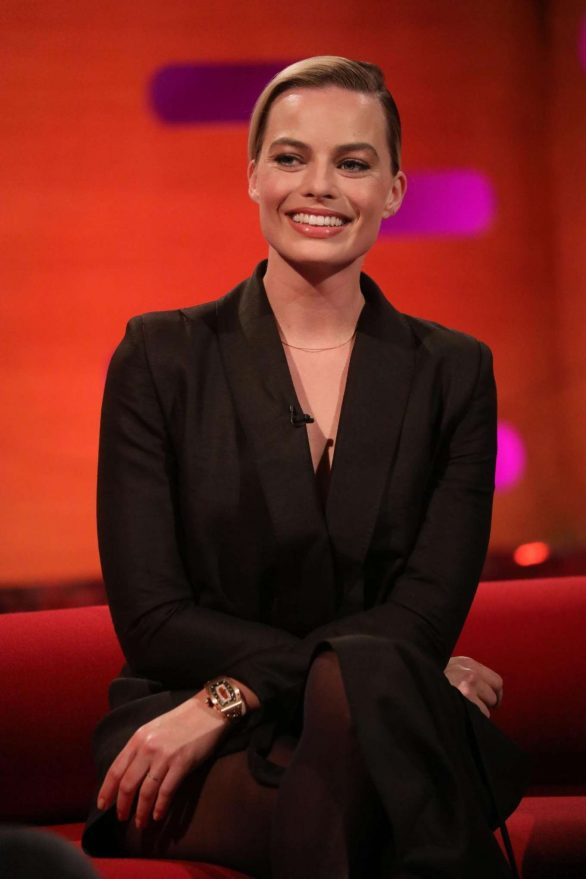 Margot Robbie - On the Graham Norton Show in London