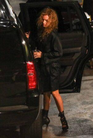 Margot Robbie - On the set of 'Babylon' in Los Angeles