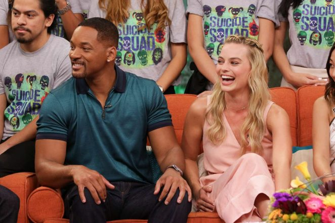 Margot Robbie: On the Set of Univisions Despierta America -27