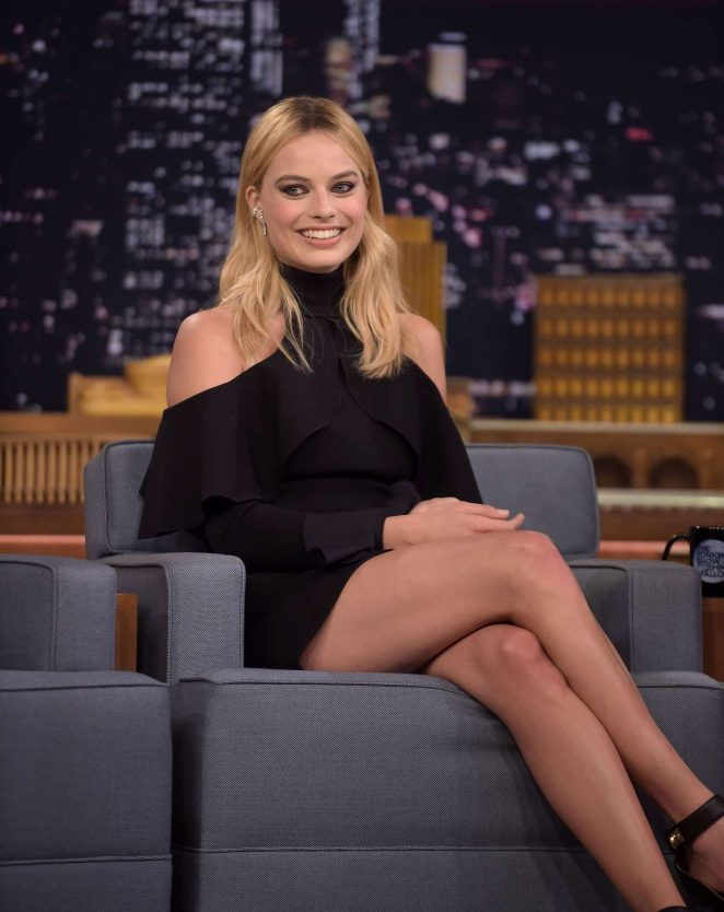 Margot Robbie on 'The Tonight Show Starring Jimmy Fallon' in NY