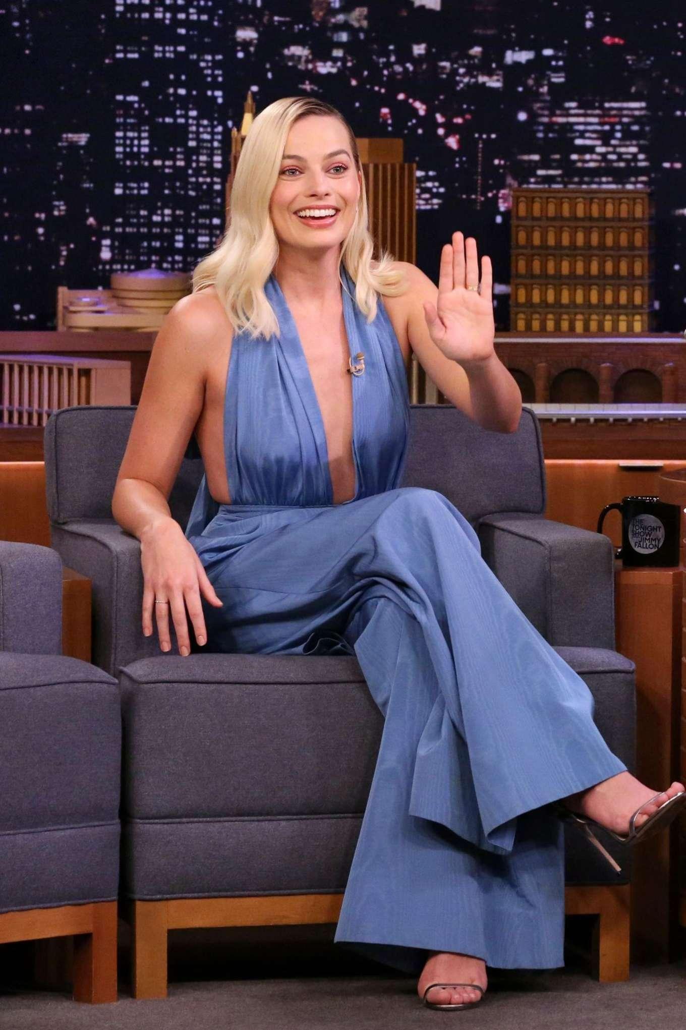 Margot Robbie - On 'Tonight Show Starring Jimmy Fallon' in NY