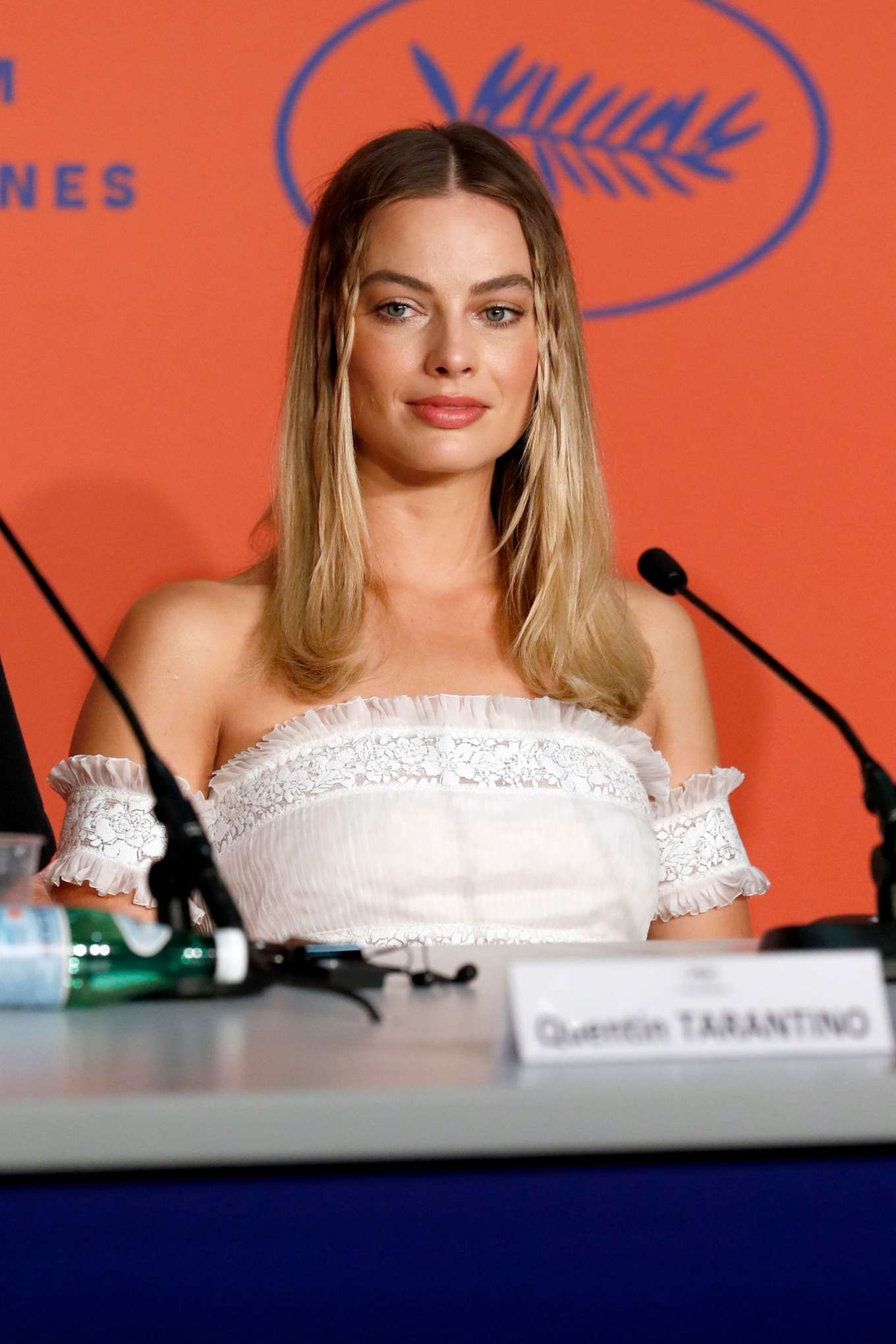 Margot Robbie - 'Once upon a time in Hollywood' Press Conference in Cannes