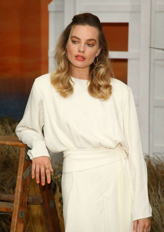 Margot Robbie 2019 : Margot Robbie – Once upon a time Photocall-19