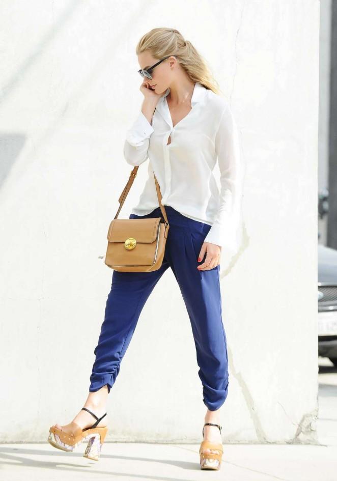 Margot Robbie out in LA -04