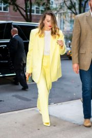 Margot Robbie out in New York City