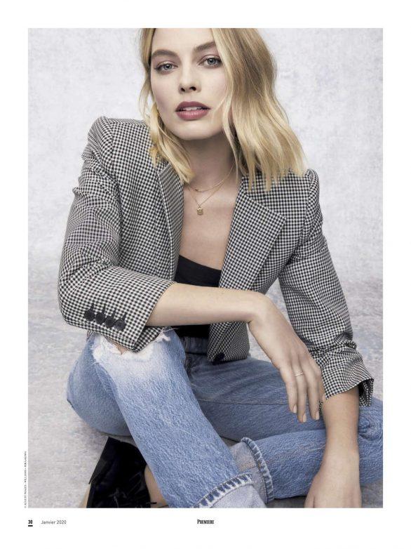 Margot Robbie - Premiere Magazine (January 2020)