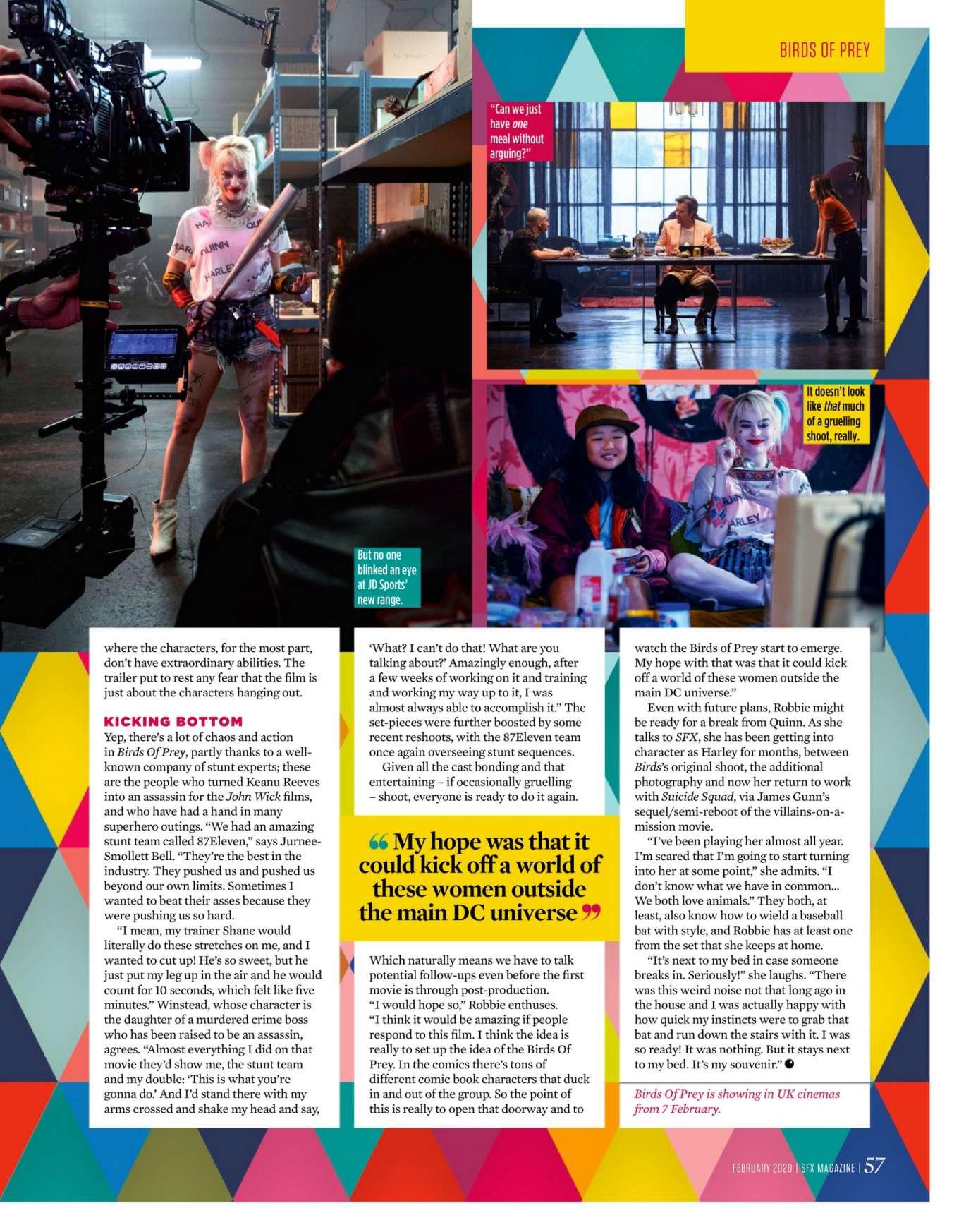 Margot Robbie 2020 : Margot Robbie – SFX Magazine 2020-01