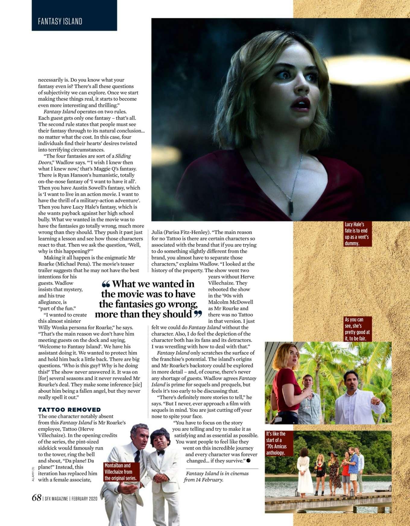 Margot Robbie 2020 : Margot Robbie – SFX Magazine 2020-04