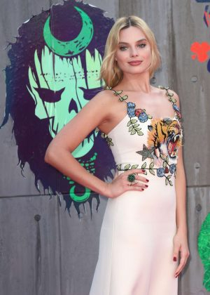 Margot Robbie - 'Suicide Squad' Premiere in London