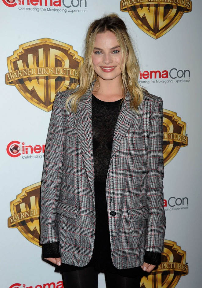 Margot Robbie - 'The Big Picture' Presentation at CinemaCon 2016 in Las Vegas