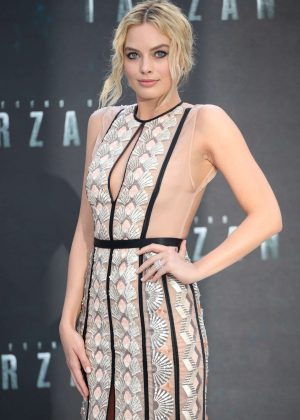 Margot Robbie - 'The Legend Of Tarzan' Premiere in London