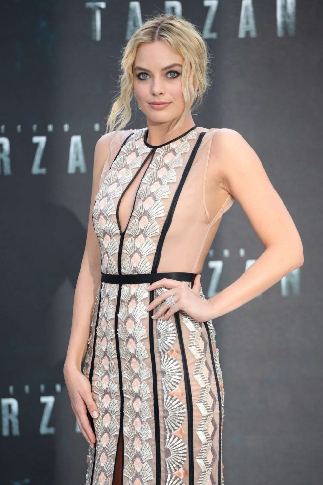 Margot Robbie: The Legend Of Tarzan UK Premiere -07
