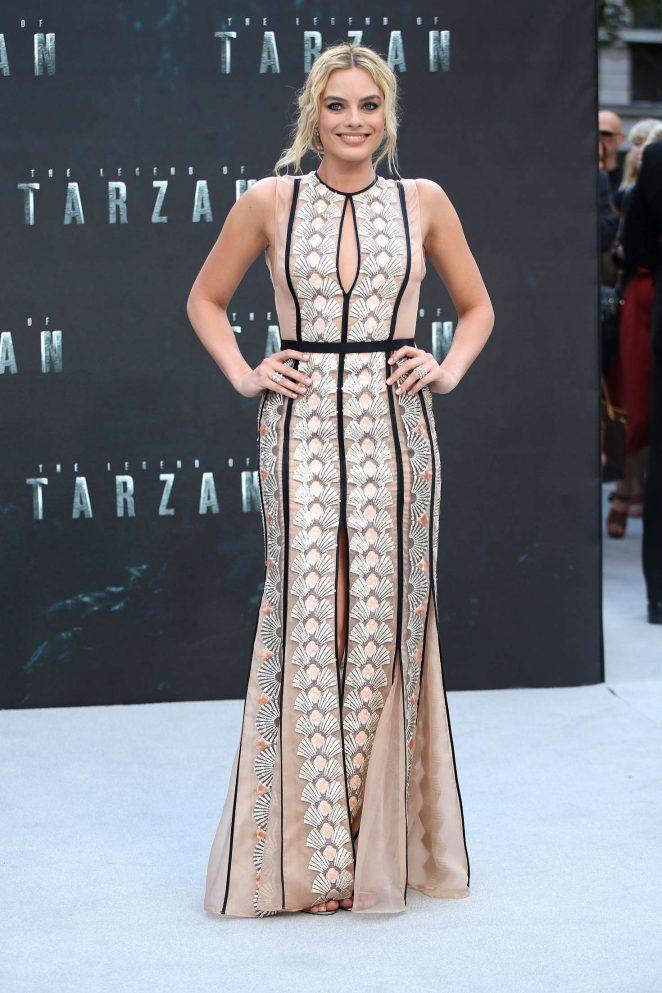 Margot Robbie: The Legend Of Tarzan UK Premiere -09