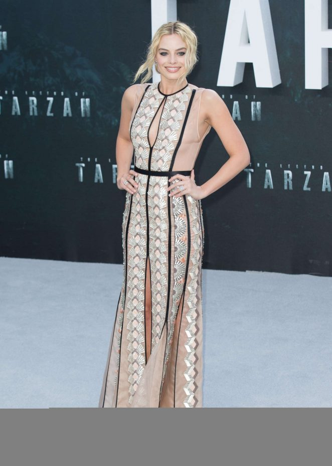 Margot Robbie: The Legend Of Tarzan UK Premiere -11