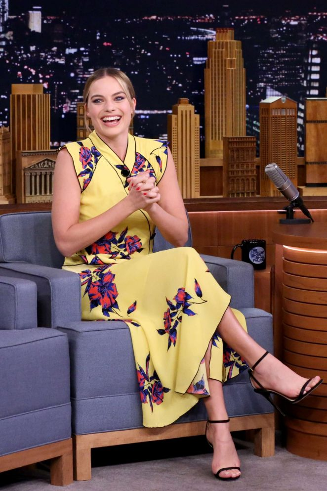 Margot Robbie - 'The Tonight Show with Jimmy Fallon' in New York