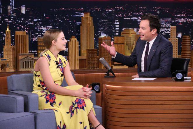 Margot Robbie: The Tonight Show with Jimmy Fallon -06